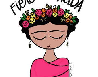 Frida Kahlo stickers Mothers day Gift, Personalized Mom, Mom Gif, Mom from Daughter
