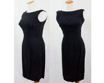 Vintage Black Lilli Diamond Dress!! Size 10 XXS