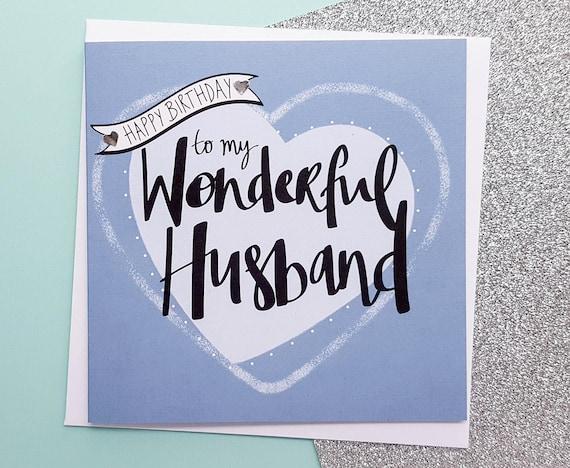husband birthday card handmade romantic husband birthday
