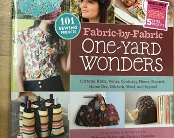 One Yard Wonders Sewing Project and Pattern Book