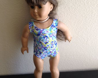 "Bathing Suit made to fit 18"" Dolls such as American Girl Item #115"