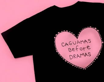 CAGUAMAS BEFORE DRAMAS Black T-shirt Special Edition