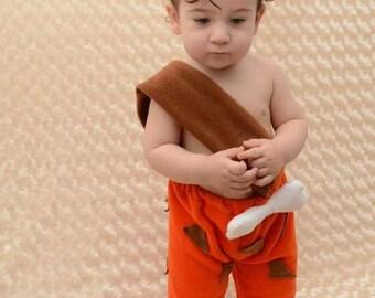 BAM-BAM COSTUME - freeshipping flinstones costume