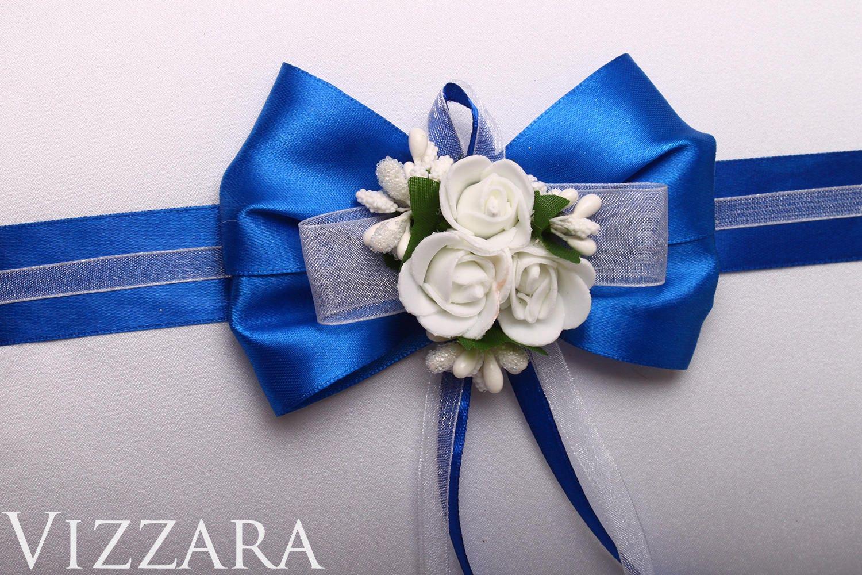 Guestbook Set Navy Blue Wedding Set Blue Wedding White Wedding