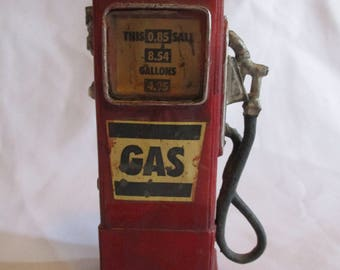 Composite Old time Gas Pump decoration by Keypoint