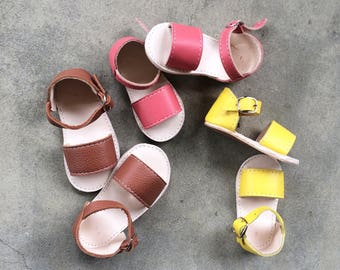 Leather Baby Sandals, moccasins, leather sandals, handmade,