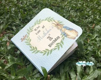 Peter Rabbit Book Invitation