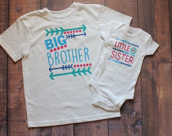 Big Brother, Little Sister, Any Sibling Combo, Sibling Shirt, Big Sister - Little Brother, Big Brother - Little Brother, Big Bro Little Sis