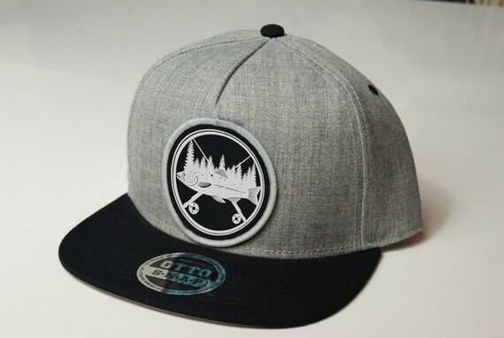 Fly fishing hat snapback hat fishing cap baseball cap for Fishing snapback hats
