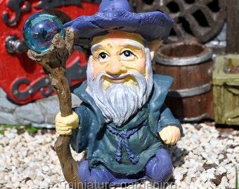 Wizard for Miniature Garden, Fairy Garden