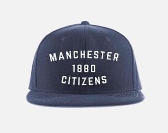 Manchester City Citizens Inspired Snapback Hat  - Premier League