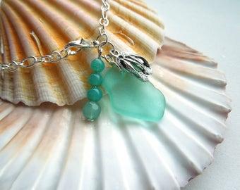 Cornish seaglass bracelet