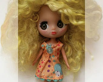 Custom Lps blythe petite size doll RESERVED