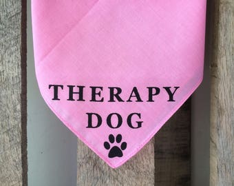 Service Dog/Therapy Dog