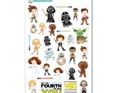 Star Wars Stickers - Disney Planner Stickers