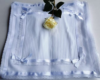 The STORK white cover with lace and cotton authentic Made in Italy