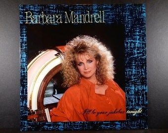 Barbara Mandrell I'll Be Your Jukebox Tonight, Vintage Vinyl Album / Country Music / 1988 / I Wish That I Could Fall in Love Today