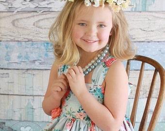 Elizabeth Flower Crown Photo Prop