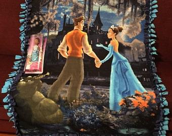 "Princess Tiana and Prince Naveen from ""The Princess and The Frog"""