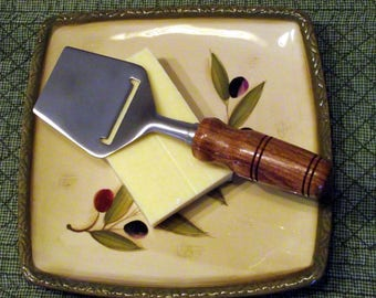 Elegant Cheese Planer with Rosewood Handle