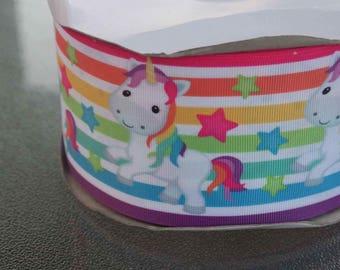 "3"" Rainbow Stripe Unicorn"