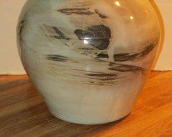 Mike Coon Evla Pottery Large Studio Pottery Vase, Signed