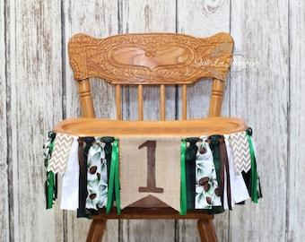 Winter Onederland Burlap High Chair Banner, Winter First 1st Birthday, Woodland First 1st Birthday, Winter Wonderland, Deer Birthday