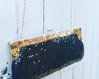 Vintage evening bag women's handbag clutch bag