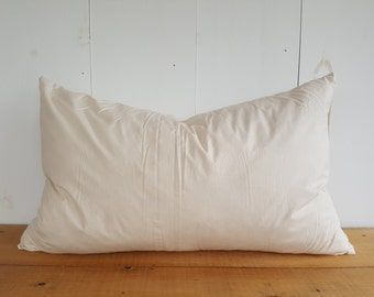 Feather/Down Pillow Insert. Oblong Pillow Insert. Lumbar Pillow Insert. Pillow Cover Insert. Muskoka Pillow Company Pillow Insert