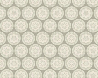 Tilda Fabric Olivia Grey. Designer Sewing Fabric. Patchwork and Quilt Fabric. Doll Making Materials. Fat Quarter Pattern Fabric.