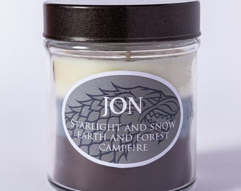 Jon Snow - Layered Soy Candle