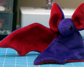 CHOOSE YOUR COLORS Bat Plush