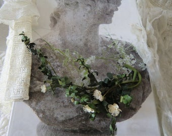 Vintage bouquet boudoir bohemian french shabby chic