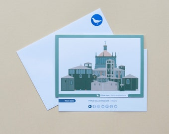Milan Icons Greeting Cards-Parco delle Basiliche-Milan