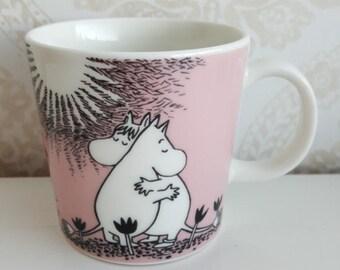 "Arabia Finland Moomin mug Rakkaus ""Love"" Made in 1996"