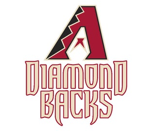 Arizona Diamondbacks Logo Vinyl Decal Many Sizes  AvailableBuy 2 get 1 free of equal or lesser size!