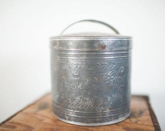 Vintage Kitchen Tin