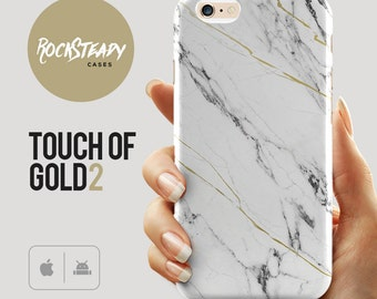 White and Gold Marble iPhone 8 case, X, iPhone 7, Samsung S8, S7, iPhone 6, Plus, SE, 5S, 5C unique marble design cell phone case, S6,S5