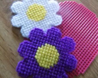 3 sm cut out flowers