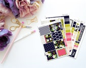 Be Fearless -- Vertical Weekly Kit-- Matte Planner Stickers