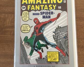 Spider man comic book
