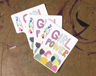 GIRL POWER STICKERS for Planned Parenthood