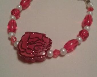 Disney Princess Belle Beaded Bracelet