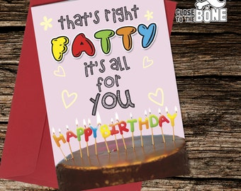 No42 BIRTHDAY CARD Boyfriend Girlfriend or Friend Adult Humour Funny Rude Humorous Greetings Card By Close to the Bone