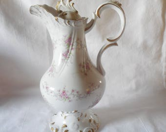 Vintage Lefton China Coffee/Chocolate pot