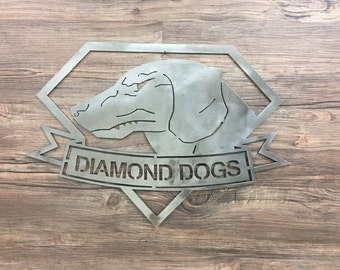 Diamond Dogs Logo 2D from Metal Gear Solid