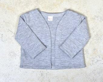 18 inch doll cardigan Color Grey