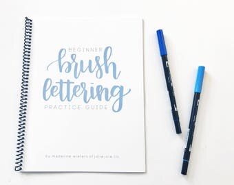 Beginner Brush Lettering Guide | Learn to Letter | Learn Brush Lettering