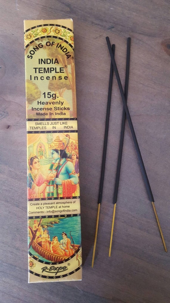 Incense // India Temple // Clearing // Gift // Healing