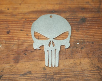 Punisher Stainless Keychain Pendant